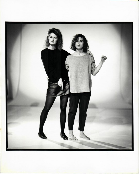 1980′s-Arthur Elgort shoot -Jane Comfort and Nancy Alfaro