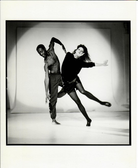1980′s- Erroll Grimes, Jane Comfort – Photo by Arthur Elgort for a concert at DTW (#2)