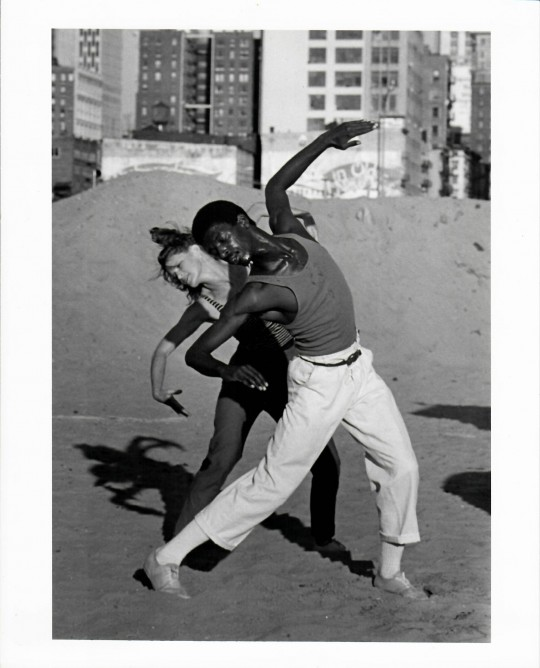 1984-URBAN RENEWAL-Jane Comfort and David Thomson-photo by Grace Sutton