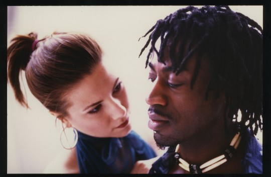 2001-ASPHALT-Manchild Black and Cynthia Svigals-Photo by Arthur Elgort