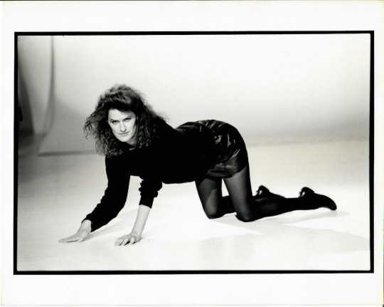 1980's- Jane Comfort – photo shoot Arthur Elgort