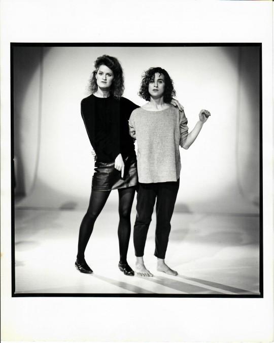 1980's-Arthur Elgort shoot -Jane Comfort and Nancy Alfaro