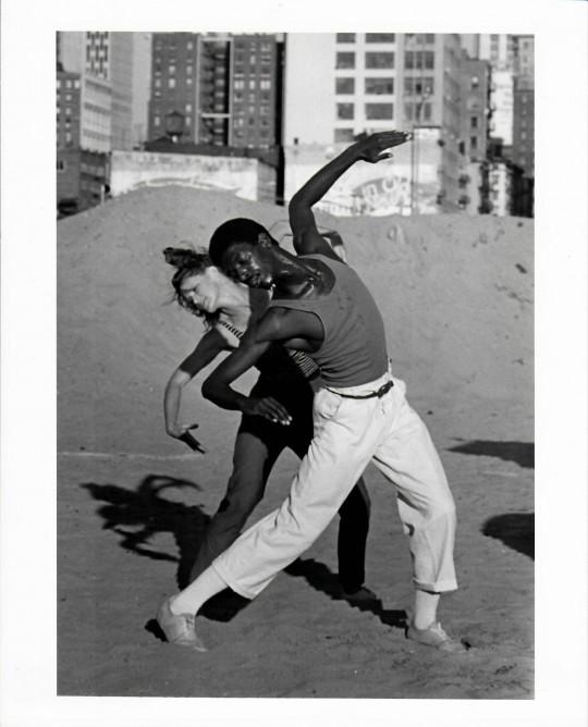 1984-URBAN RENEWAL-Jane Comfort and David Thomson-photo by Grace Sutton