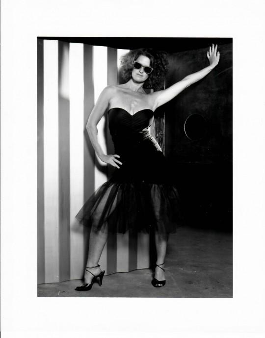 1985- TV LOVE-Jane Comfort- Photo by Grace Sutton