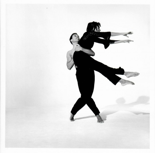 1990's-3 BAGATELLES FOR THE RIGHTEOUS-  Stephen Nunley, Stephanie McKay-Photo by Arthur Elgort