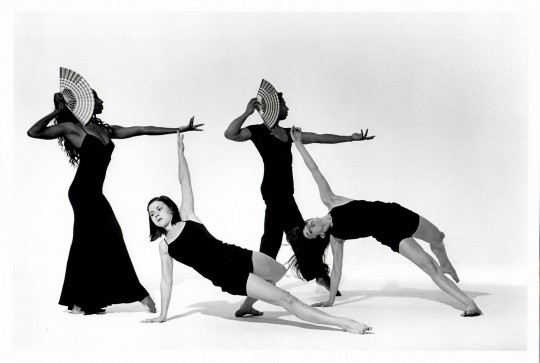 1990's-3 BAGATELLES FOR THE RIGHTEOUS-Aleta Hayes, Cynthia Bueschel Svigals, Stephen Nunley, Laurie Bulman-Photo by Arthor Elgort