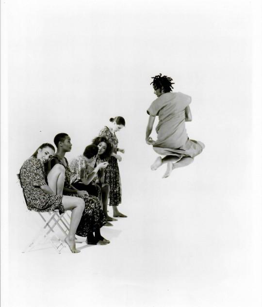 1990's-3 BAGATELLES FOR THE RIGHTEOUS-Suzie Nece, Christalyn Wright, Joseph Ritch, Christina Redd Johnson, Rebecca Hermos, Stephanie McKay-Photo by Arthur Elgort