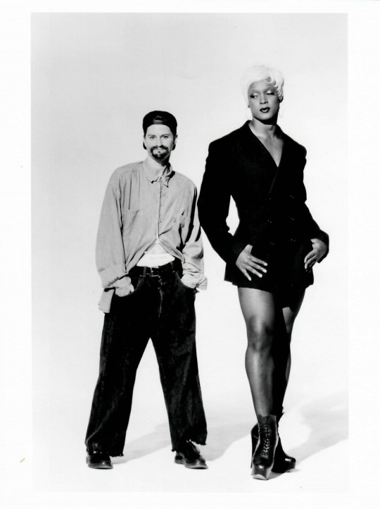 1994-S/HE-Jane Comfort and Andre Shoals-Photo by Arthur Elgort