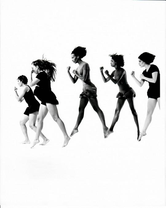 1994-S/HE-Stephanie McKay, Suzie Nece, Edisa Weeks, Christina Redd Johnson, Rebecca Hermos- Photo by Arthur Elgort
